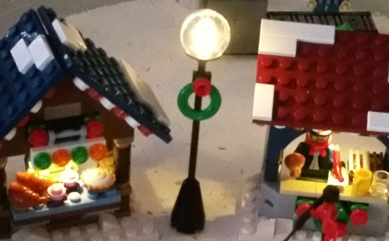 Kerstdorp montage 2